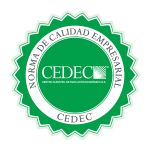 Sello certificado CEDEC