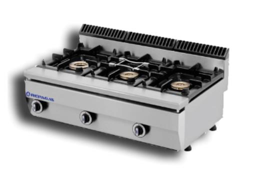 Cocinas De Gas Pequenas.Cocina Industrial Pequena Serie 550 De Repagas